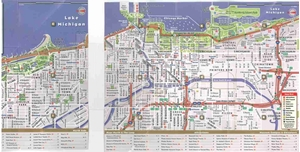 Picture of Chicago Popout Map