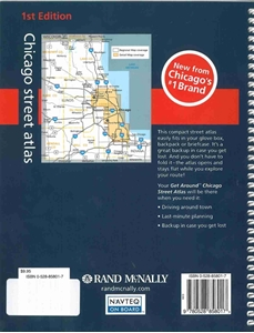 Picture of Rand McNally Get Around Chicago Street Atlas