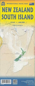 Picture of International Travel Maps - South Island New Zealand