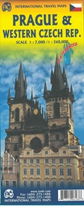 Picture of International Travel Maps - Prague & Western Czech Republic