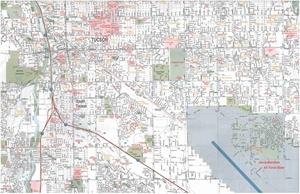 TheMapStore   Tucson, AZ street map