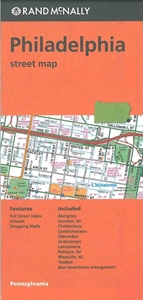 Picture of Philadelphia, Pennsylvania street map