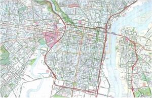 Picture of Philadelphia, Pennsylvania street map