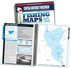 Picture of Central Northeast Wisconsin Fishing Map Guide