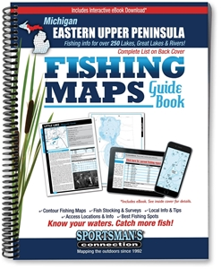 Picture of Eastern Upper Peninsula Michigan Fishing Map Guide
