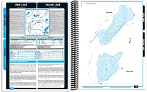 Picture of Western Upper Peninsula Michigan Fishing Map Guide