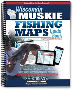 Picture of Wisconsin Muskie Fishing Map Guide