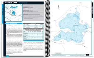 Picture of Northern Wisconsin Fishing Map Guide - Oneida Area