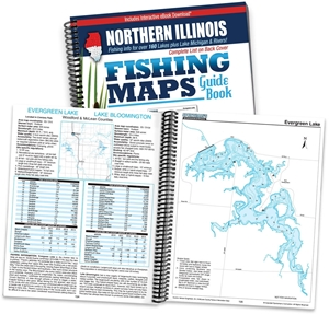Picture of Northern Illinois Fishing Map Guide