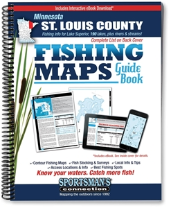 Picture of Northern Minnesota St. Louis County Fishing Map Guide