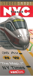 Picture of StreetSmart NYC Transit map