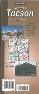 Picture of Tucson, AZ street map