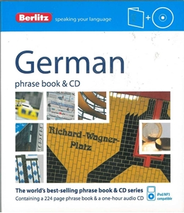 Picture of Berlitz German Phrase Book & CD