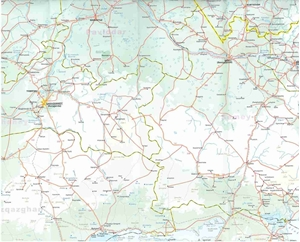 Picture of International Travel Maps - Kazakhstan Travel Map
