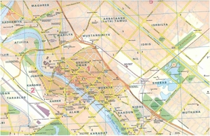 Picture of International Travel Maps - Baghdad
