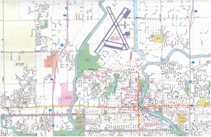 Picture of Sioux Falls, SD street map