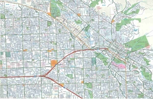 Picture of Boise, Nampa, Caldwell, ID street map