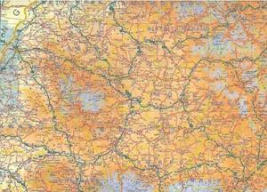 Picture of International Travel Maps - Romania & Moldova