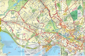 Picture of International Travel Maps - Oslo, Bergen & South of Norway