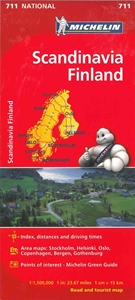 Picture of Michelin - Scandinavia & Finland (711)