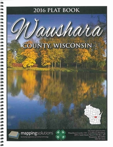 Picture of Waushara County Wisconsin Plat Book 2016