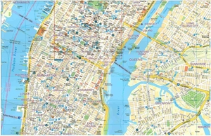 Picture of Michelin New York City Laminated Street Map