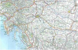 Picture of Michelin - Slovenia , Croatia , Bosnia & Herzegovenia , Macedonia