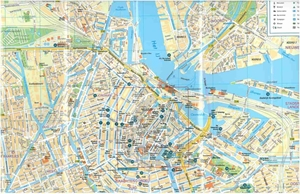 Picture of Michelin Amsterdam City Map