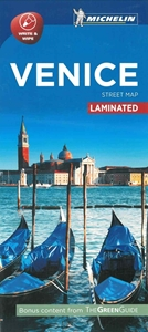 Picture of Michelin Venice City Laminated Map
