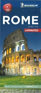 Picture of Michelin Rome City Laminated Map
