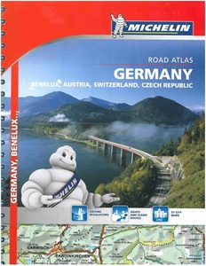 Picture of Michelin - Germany , Benelux , Austria , Switzerland , Czech Republic Road Atlas