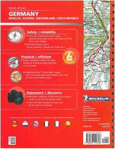 Picture of Michelin - Germany , Benelux , Austria , Switzerland , Czech Republic Road Atlas