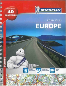Picture of Michelin Road Atlas - Europe