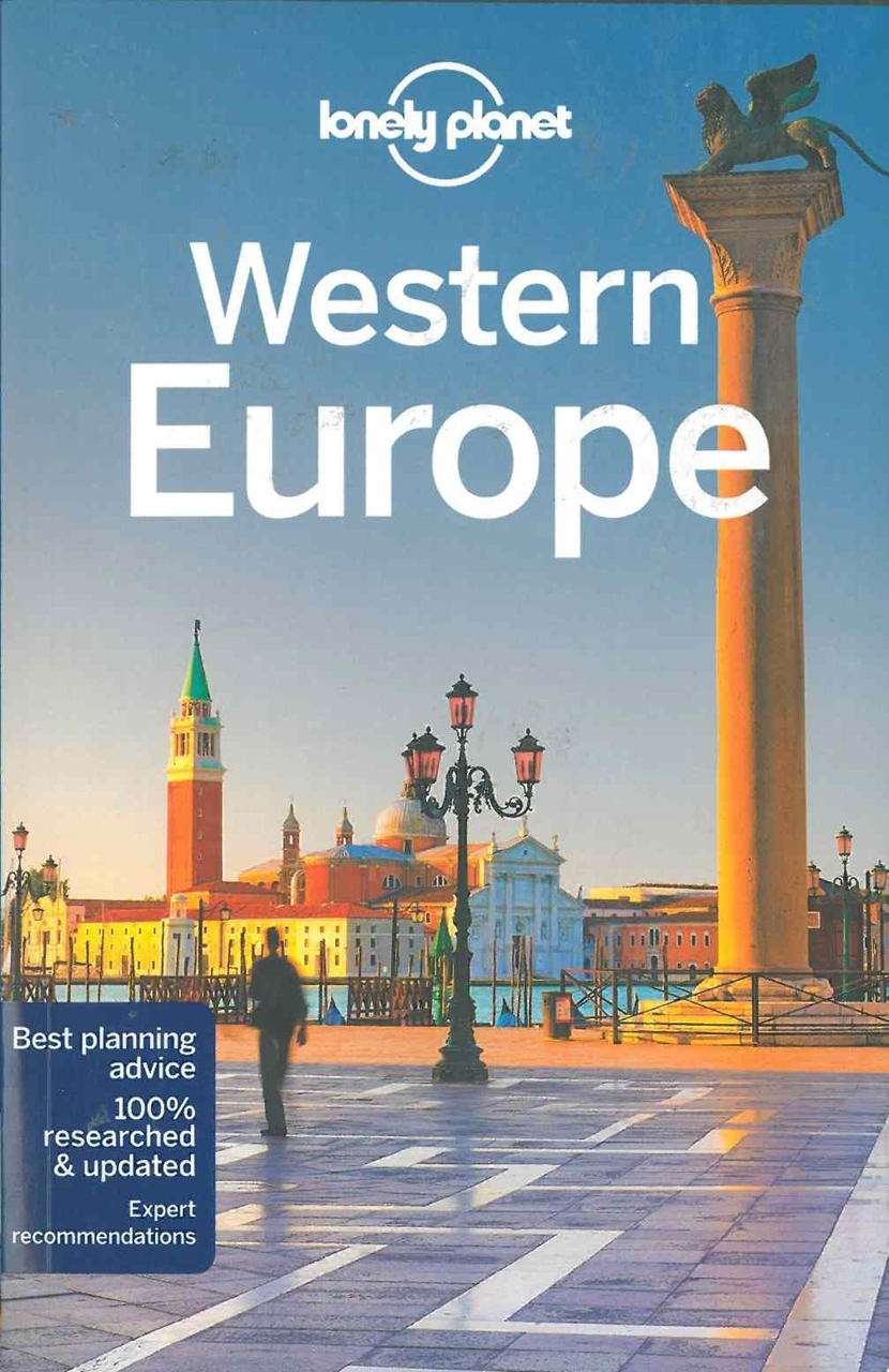 Themapstore lonely planetwestern europeeuropetravel guide for Plante western