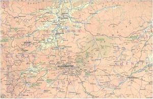 Picture of International Travel Maps - Mongolia