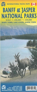 Picture of International Travel Maps - Jasper & Banff Nat'l Parks