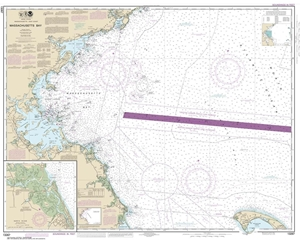 Picture of 13267 - Massachusetts Bay Nautical Chart