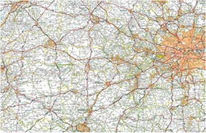 Picture of Michelin - South East England, The Midlands, East Anglia (504)