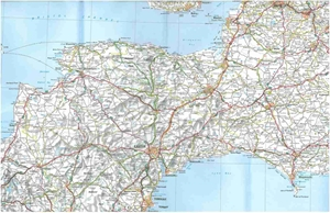 Picture of Michelin - England Southwest,  Midlands, Wales (503)