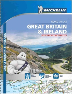 Picture of Michelin Great Britain & Ireland Tourist and Motoring Atlas