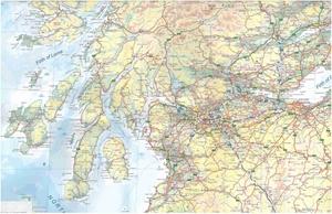 Picture of International Travel Maps - Edinburgh & Scotland Travel Map