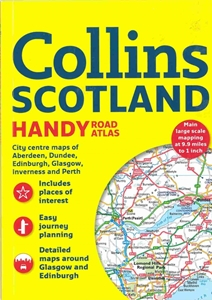 Picture of Collins Scotland Handy Road Atlas