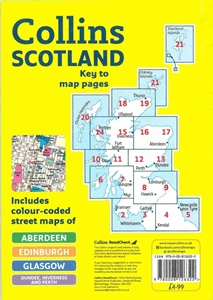 Picture of Collins Scotland Handy Road Atlas