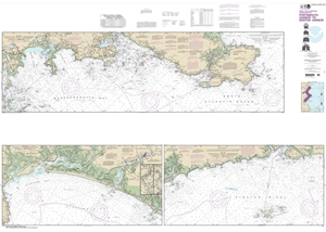 Picture of 13274 - Portsmouth Harbor To Boston Harbor Nautical Chart