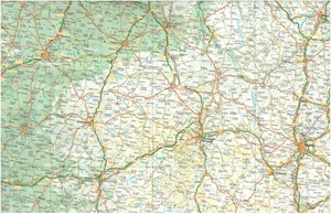 Picture of International Travel Maps - France
