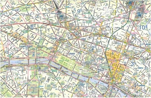 Picture of International Travel Maps - Paris & Northern France