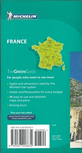 Picture of Michelin - France - The Green Guide