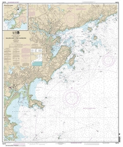 Picture of 13275 - Salem Harbor And Lynn Harbor Nautical Chart