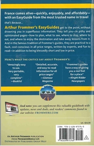 Picture of Frommer's EasyGuide to France 2016