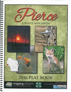 Picture of Pierce County Wisconsin Plat Book 2016